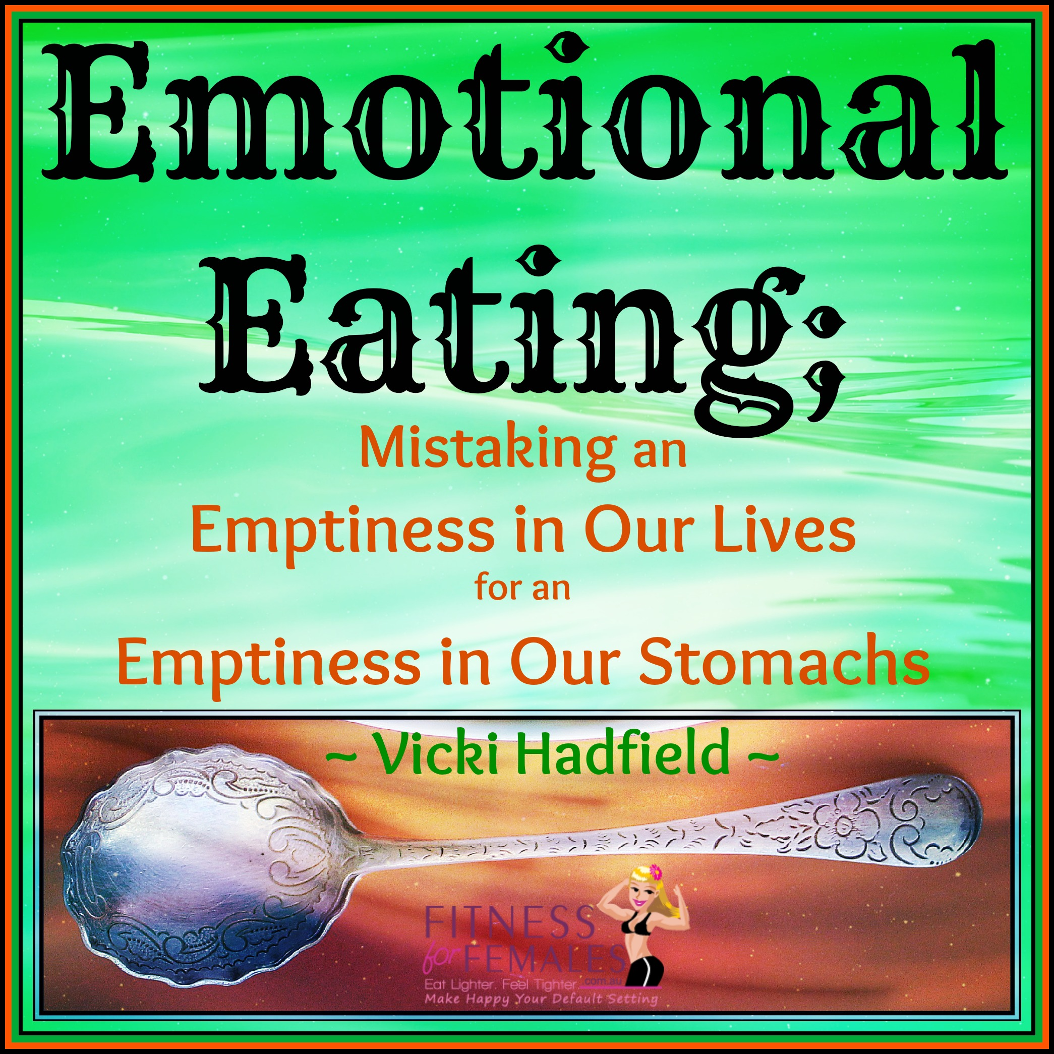Emotional Eating Spoon