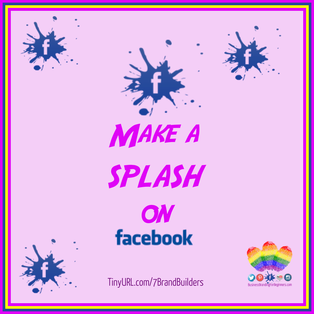 Splash on FaceBook BB